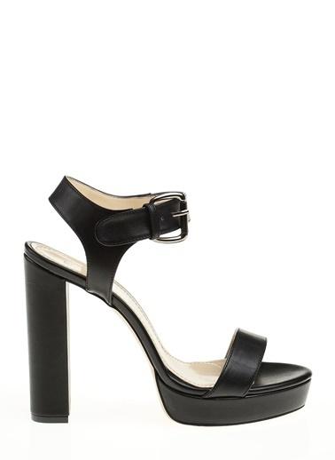 D by Divarese Platform Topuklu Ayakkabı Siyah